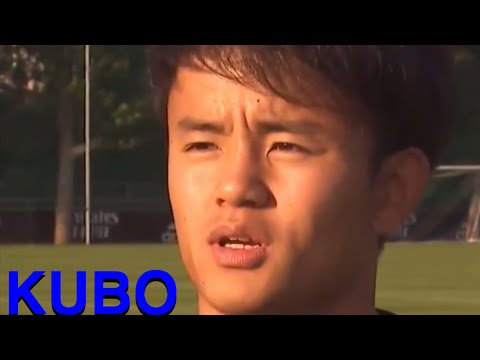 Takefusa KUBO  Real Madrid ICC  Appearance scene summary