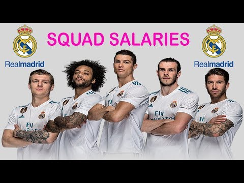 Real Madrid Player Salaries 2018-19 (Contract Details Revealed)