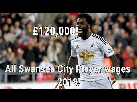 Swansea City FC Players Salaries 2018!