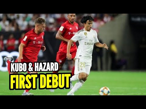 Takefusa Kubo debut Real Madrid vs Bayern Munchen