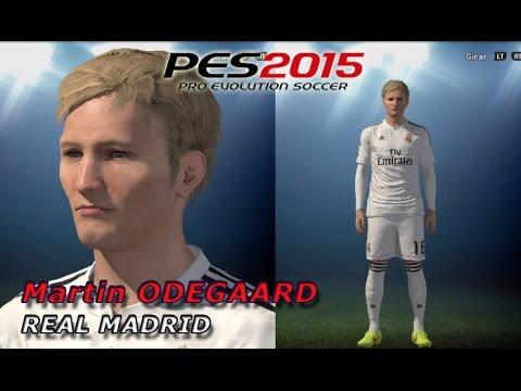 PES 2015 – CREATE ODEGAARD (REAL MADRID) FACE, STATS…