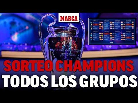 Sorteo de Champions 2019 – 2020   Grupos y rivales de Real Madrid, Barça, Atlético y Valencia