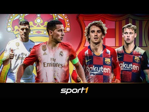 Wettrüsten der Giganten: FC Barcelona und Real Madrid hauen die Millionen raus | SPORT1