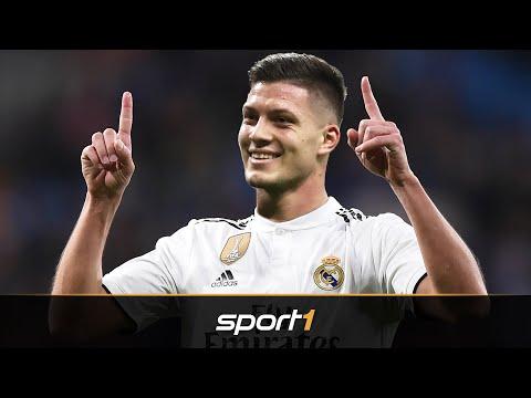 Offiziell: Luka Jovic wechselt zu Real Madrid | SPORT1 – TRANSFERMARKT