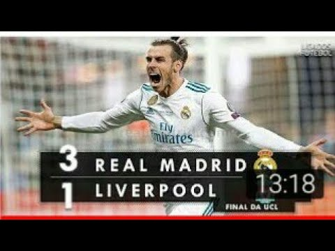 Final da Champions league REAL MADRID 3×1 LIVERPOOL