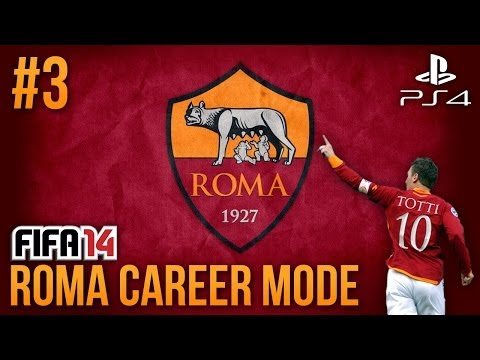 Next Gen FIFA 14: AS Roma Career Mode – Episode #3 – VS REAL MADRID!!!