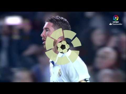 Gol de Sergio Ramos (1-1) FC Barcelona vs Real Madrid