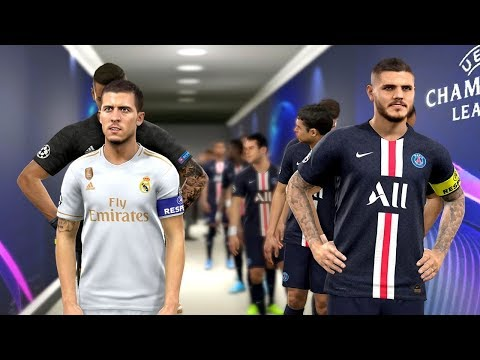 PSG vs Real Madrid ft Icardi , Navas , Areola (UCL 2019/20)