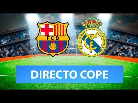 (SOLO AUDIO) Directo del Barcelona 0-0 Real Madrid en Tiempo de Juego COPE