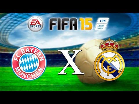 FIFA 15 – Bayern x Real Madrid