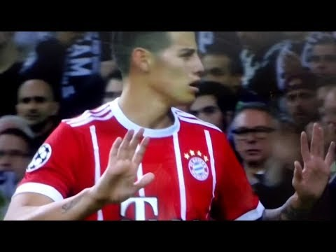 gol de james sin celebrarlo–bayern munich  vs real madrid– 1 de mayo