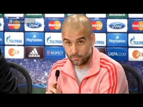 """Guardiola ataca al Madrid: """"He leído que ya está en la final y que ya la han ganado"""""""
