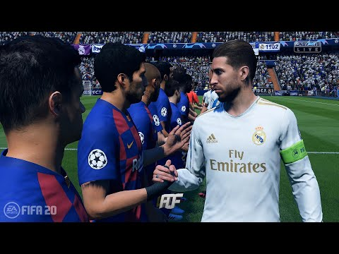 FIFA 20 | FC Barcelona vs Real Madrid | UEFA Champions League