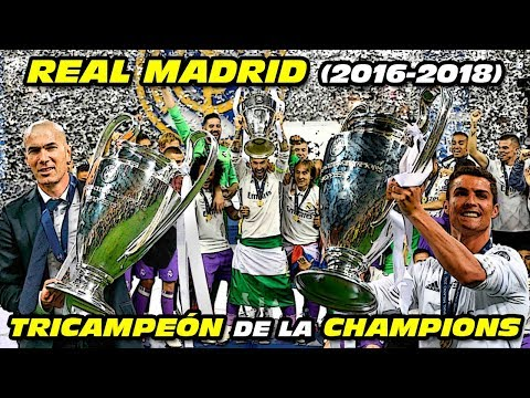 REAL MADRID TRICAMPEÓN 🏆🏆🏆 de la CHAMPIONS LEAGUE (2016-2018)