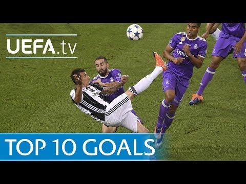 UEFA Champions League 2016/17 – Top ten goals
