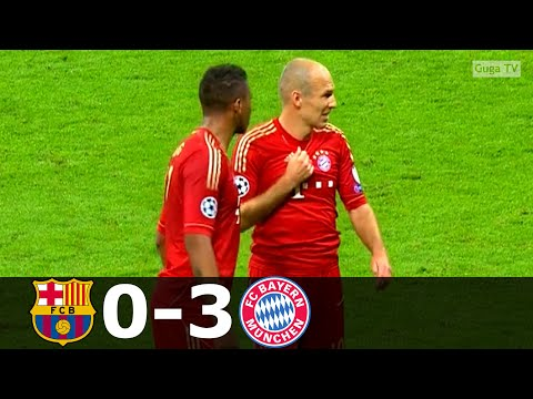 Barcelona vs Bayern Munich 0-3 – UCL 2012/2013 (2nd Leg) (English Commentary) HD