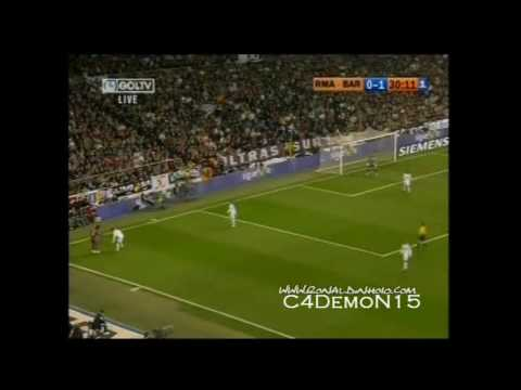Ronaldinho Vs. Real Madrid ~ November 19, 2005