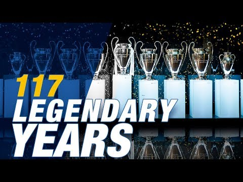 REAL MADRID: 117 legendary years of trophies