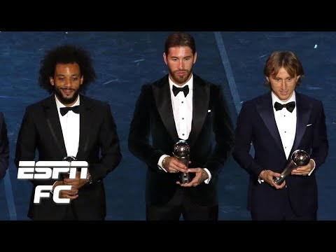 No Manchester City players, three from Real Madrid in FIFPro Men's World11 | The Best FIFA Awards