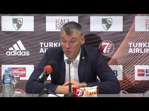EuroLeague: Žalgiris Kaunas – Real Madrid press conference