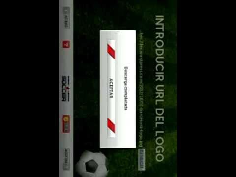 Como cambiar el logo en dream league soccer 2014  en español