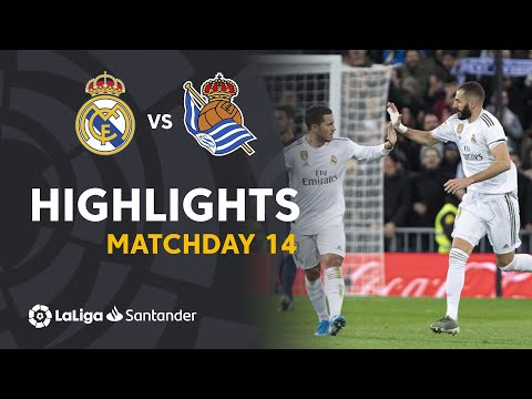 Highlights Real Madrid vs Real Sociedad (3-1)