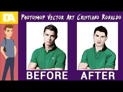 Photoshop Vector Art Cristiano Ronaldo | Real Madrid C.F