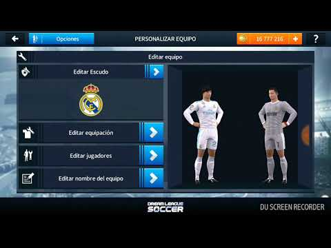 Descargar el escudo y kit del Real Madrid para dream league soccer
