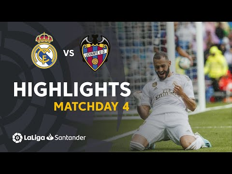 Highlights Real Madrid vs Levante UD (3-2)