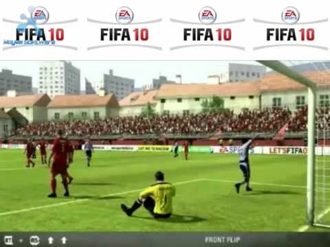 Fifa 10 Normal And Virtual Pro Live Season 2.0 Goal Celebrations Xbox 360 Ps2 Ps3 2010