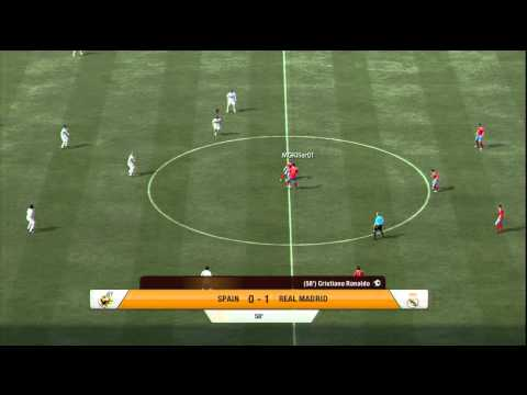 FIFA 12 – Real Madrid Vs Spain 2-0 [Head To Head Sessions] HD