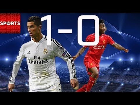 REAL MADRID 1-0 LIVERPOOL [Benzema SCORES ONLY GOAL]