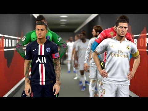 Real Madrid vs PSG (Hazard Scored 2 Goals) ft Coutinho , Jovic , Donnarumma