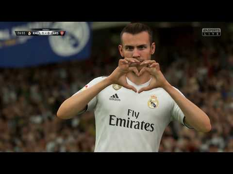 Real Madrid vs Arsenal||ICC Match||HD Gameplay||Fifa19||Highlights||