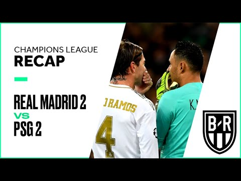 Real Madrid 2-2 Paris Saint-Germain: Champions League Recap with Goals, Highlights and Best Moments