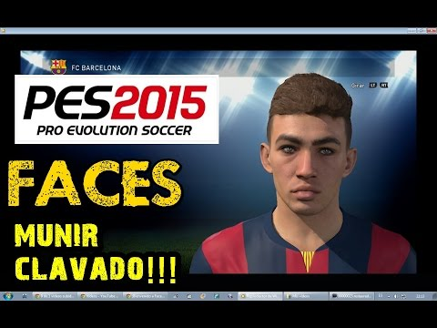PES 2015 |  Players faces R.Madrid / FC Barcelona and more!!!