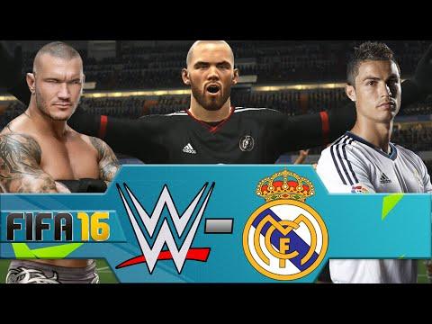 WWE vs Real Madrid (FIFA 16 PS4)