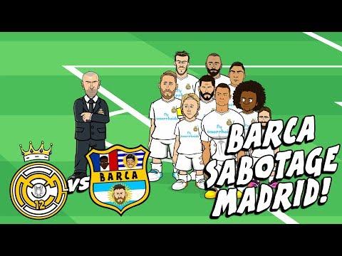 🤣BARCA SABOTAGE MADRID!🤣! El Clasico Preview 2017 Parody