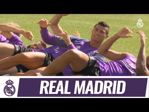 💪 Real Madrid train alongside Castilla