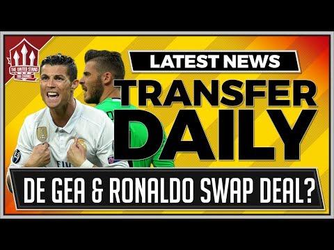 MAN UTD IN RONALDO FOR DE GEA DEAL? MUFC Transfer News