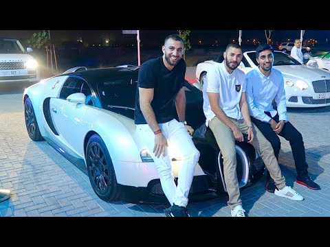Hanging out with MESSI and BENZEMA – Real Madrid FOOTBALLER !!!