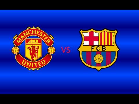 Pro Evolution Soccer 2015 PS4 Manchester United VS FC Barcelona Penalty Shootout (Dramatic)