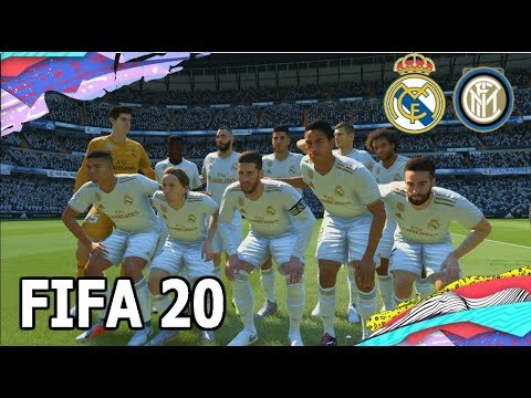 FIFA 20 GAMEPLAY – REAL MADRID VS INTER – PS4, PS3, XBOX ONE, XBOX 360, PS3, SWITCH.