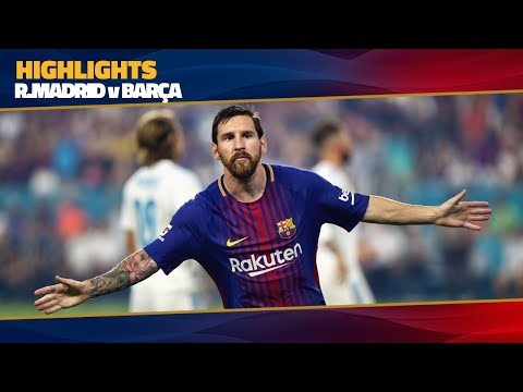 [HIGHLIGHTS] FC Barcelona – Real Madrid (3-2) ICC 2017