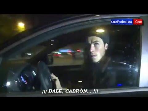 Gareth Bale es insultado a la salida del estadio • Real Madrid 1-1 Juventus • 2015