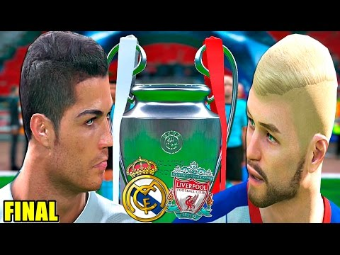FINAL Uefa Champions League REAL MADRID vs LIVERPOOL | PES 2017 BAL #38