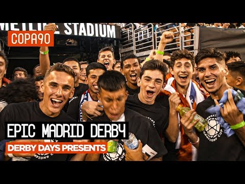 Atletico Madrid Stun Real Madrid in New York | Derby Days Presents…
