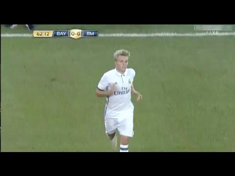 Martin Ødegaard vs Bayern Munich 04/08/16 HD
