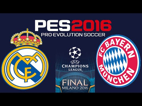 PES 2016 – UEFA CHAMPIONS LEAGUE FINAL – REAL MADRID vs BAYERN MUNICH