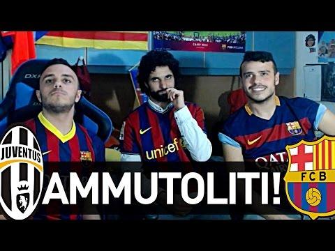 JUVENTUS 3-0 BARCELLONA | REAZIONE NAPOLETANI E JUVENTINO!!!!